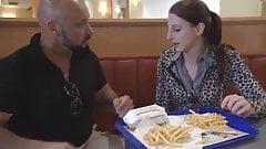fucking in burger king