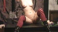 Bratgirl Antonia covered in cum!