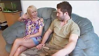 Lucky Guy Fucks His Girlfriends Mature Mother