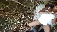 Petite amie indienne baisée dans la jungle