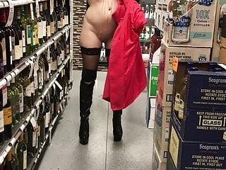 Omg trevor morgan totally naked Public flashing totally naked in store