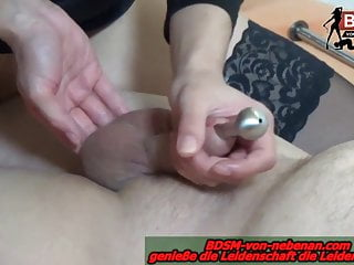 Threesome anal tube Cum with cockstuffing tube fetish orgasm cumshot german