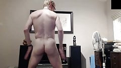 dad strips down naked on webcam