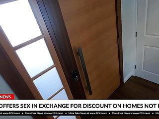 Lick library discount Fck news - agent offers sex in exchange for discount on home