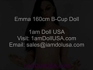 Doll sex porn - Sexy emma 160cm b-cup love doll sex doll, 1am doll