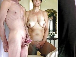 Amateur boob wife - Big boob wife gets my cum
