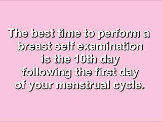 Donating to advance breast cancer - Breast cancer self examination instructional video 2