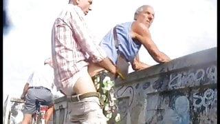 Daddy Fucking Grandpa On The Bridge
