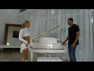 Men playing piano with their penis - Tiffany q. playing piano...