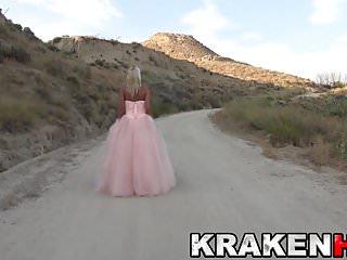 Sexy princess pic - Cute estefani tarrago outdoor in a sexy princess dress