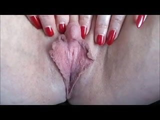 Large clit ejaculation - Eros music - big clit-large labia