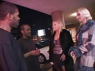 Blonde blowjob gangbang 2 blonde hotties take on black cocks