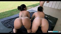 Two Massive Asses in South America