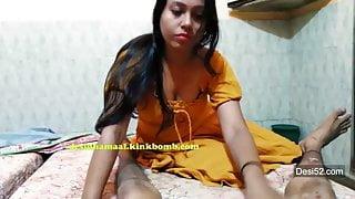 desi indian mature pornstar gives blowjob at audition