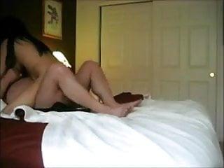 Bareback asian lady Amateur asian lady has loud orgasm riding white guy
