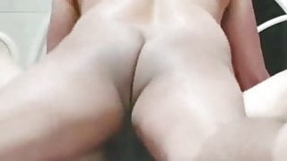 Cheating housewife hardcore fucked by young boy