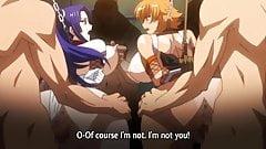 Taimanin Asagi Hentai Orgy