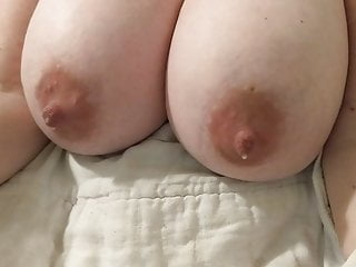 Huge tits overflow Wifes milky tittys overflowing
