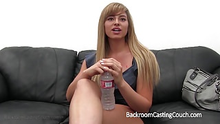 Teacher in Anal and Creampie Casting