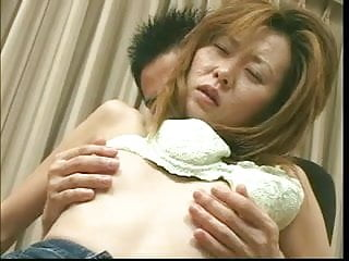 Cuckold lick pussy clean Busty japanese babe gets her clean pussy and ass licked then fucks