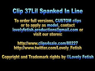 Nude german teen clips - Clip 37lil spanked in line - sale: 7