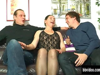 Suck dicks for crack - German milf suck dicks in threesome