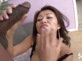Hentai links free Tight asian jackie link tries a huge black cock