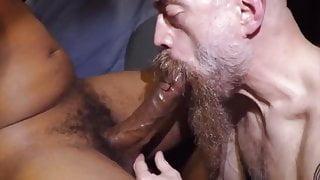 Hot bearded suck so good a good cock