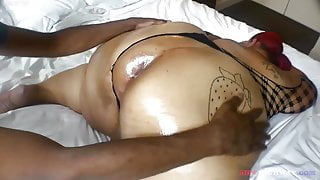Worshipping Ssbbw Strawberry Delight awesomely huge ass