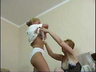 Thin lesbian mom - Mature lesbian mom with not her young innocent daughter 1