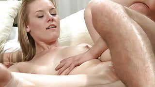 Two horny couples and sex in one bed