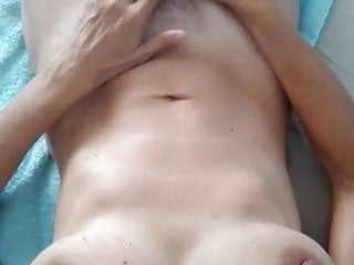 Impaled on a steel dildo stick Matures pussy impaled on huge bbc dildo dick