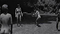 Vintage 60's Nudist Trailer