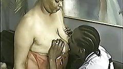 Fat woman nursing