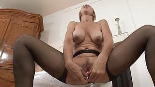 jenna covelli big nipples suspender tights