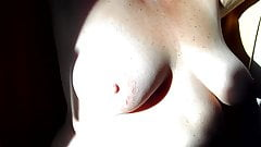 My boobs in the sun. Tittieslove1234