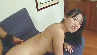 Niya masturbates with toys and fucks with a black cock