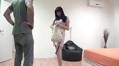 Секс-богиня Damaris учит Ricky, как она трахается