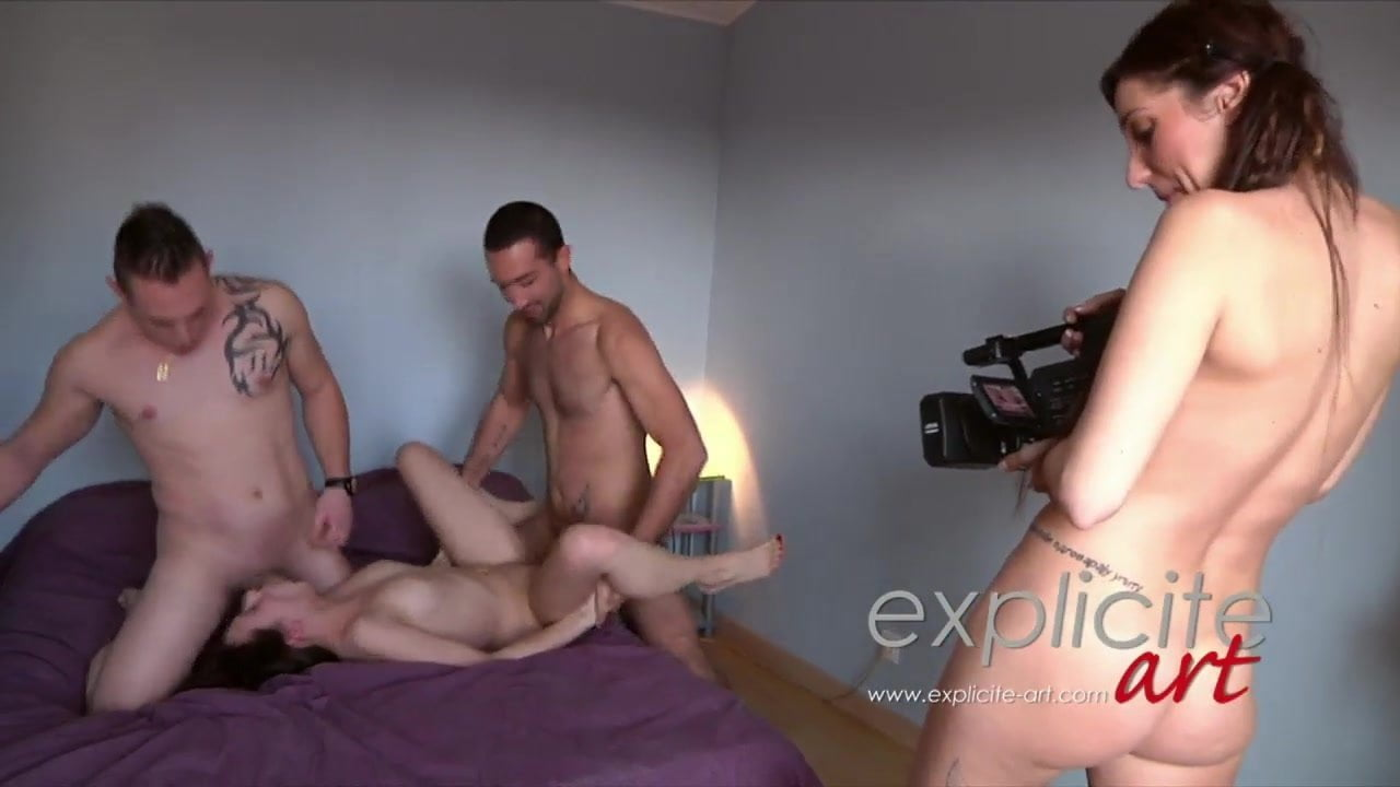 French Teen Threesome Amateur