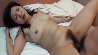 Uncensored Japanese MILF Porn Hairy mature fucked