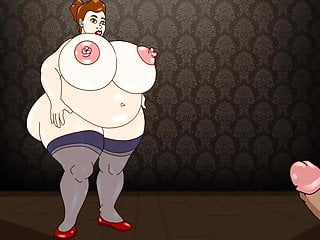Mom sitting on dick Fat mom sits cunt on a dick porn cartoon