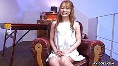 Japanese babe, Sena Aragaki is masturbating, uncensored