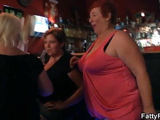 Big boob orgy - Huge boobs bbw have fun in the bar