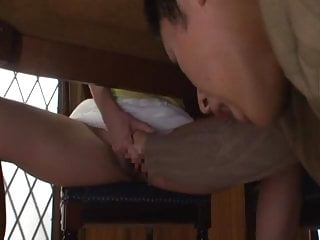 Provocative women thumbs Provocation from the stepmom
