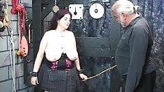 Big tit slut fucks a lava lamp then a dildo while sucking a wizard's cock