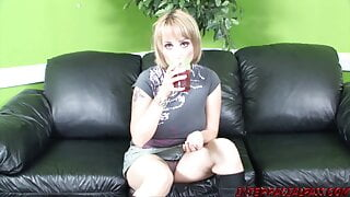 Sophia Mounds makes the Interracial Threesome Rounds