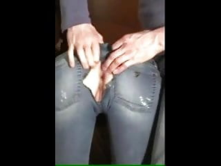 Pussy rips - Ripped jeans anal