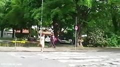 Nude In Public 17 (Walk Through Town)