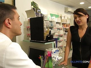 Asian pharmacies - vardenafil French brunette anna siline fucked in the pharmacy