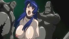 Yatsu Murasaki fucked by orcs